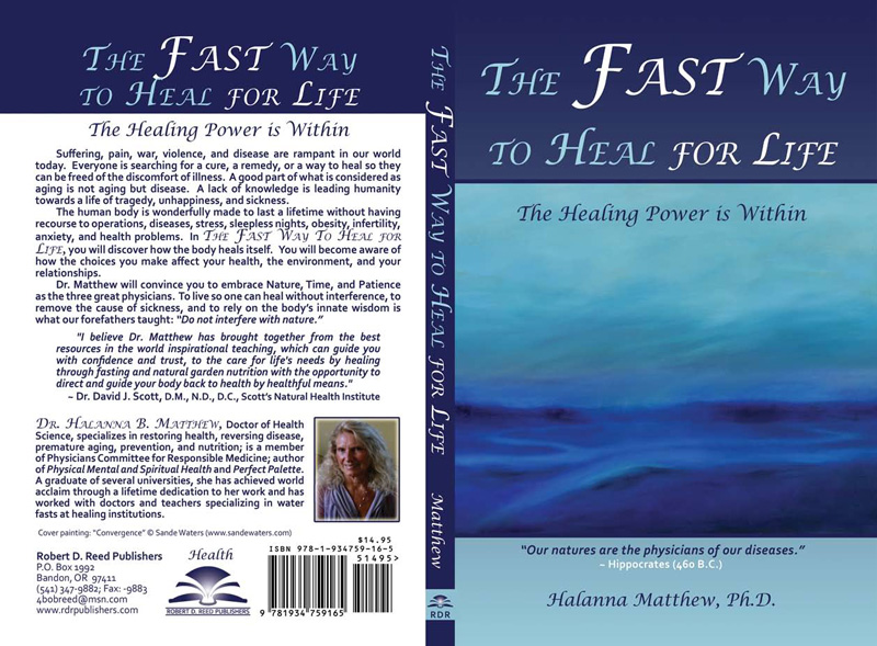 Fast Way To Heal Book Halanna Matthew